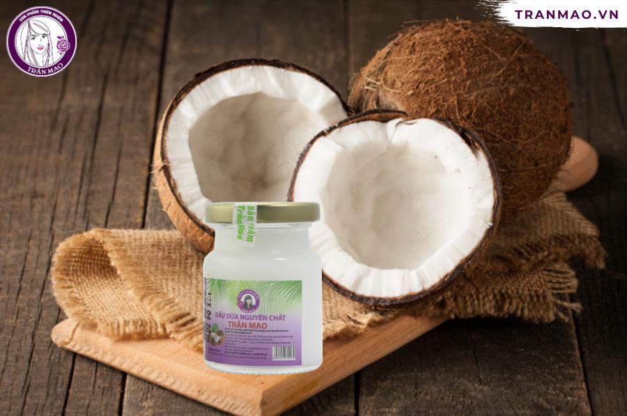 Cách dưỡng mi bằng dầu dừa