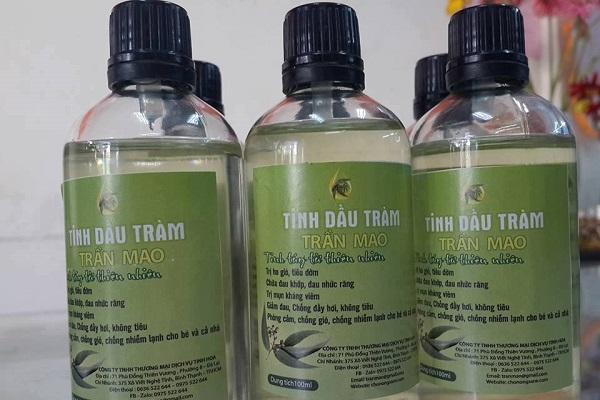 Tinh dầu tràm Trần Mao