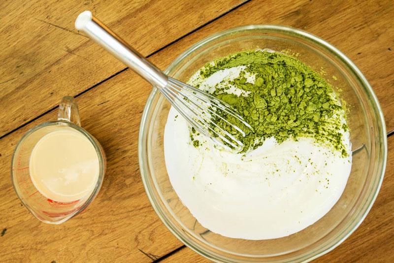 Công dụng của bột trà xanh khi kết hợp