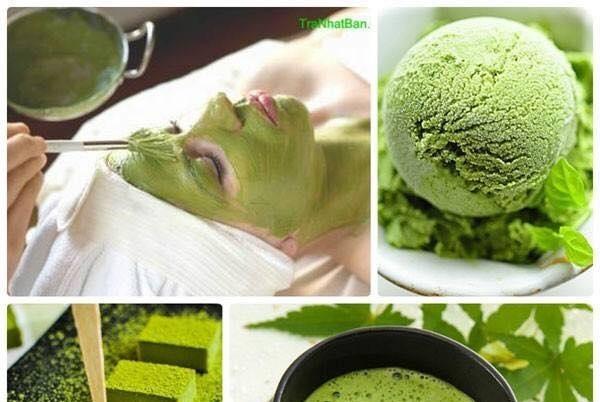 Tác dụng của bột trà xanh với da mặt hiệu quả