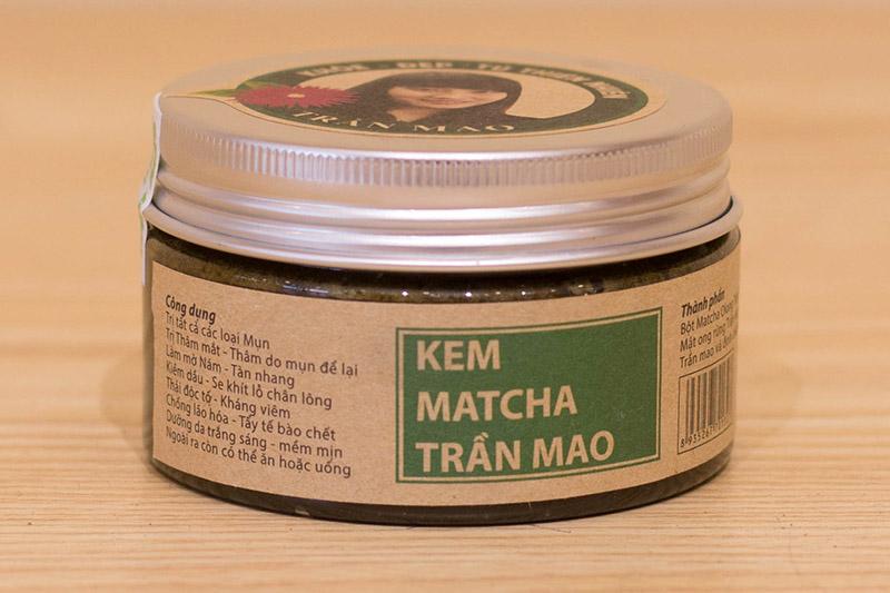 kem matcha ô long Trần Mao