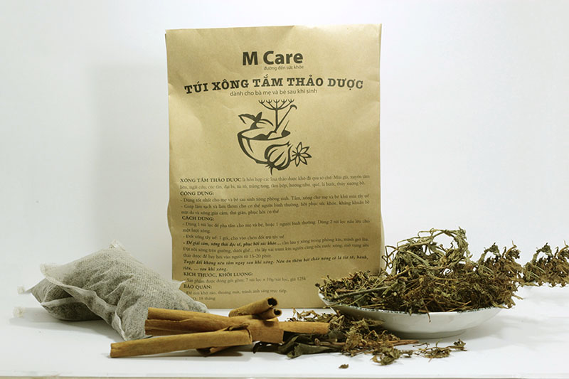 M Care herbal bath bag 1 1