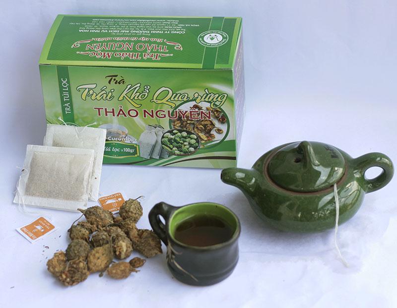 Thao Nguyen Wild bitter melon fruit Tea 1 1