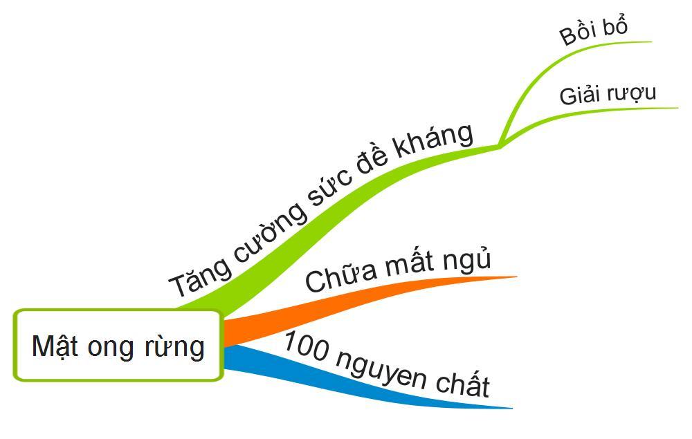 Mật ong rừng Trần Mao