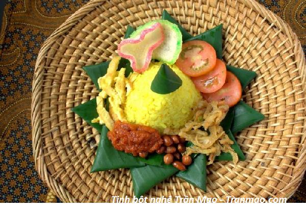 Bí quyết nấu ăn với tinh bột nghệ Trần Mao