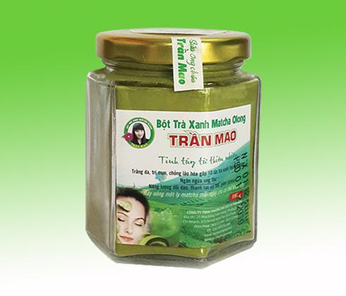 Bột matcha trà xanh olong Trần Mao
