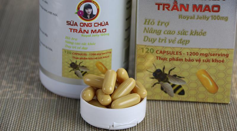 Chất lượng sữa ong chúa Trần Mao