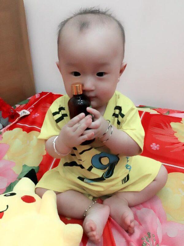Tinh dầu tràm Trần Mao với trẻ em