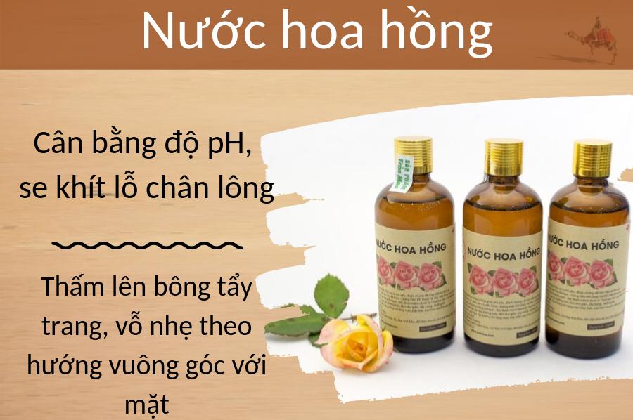 Nước hoa hồng Trần Mao