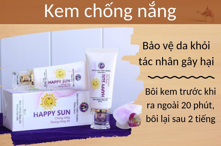 Kem chống nắng Happy Sun