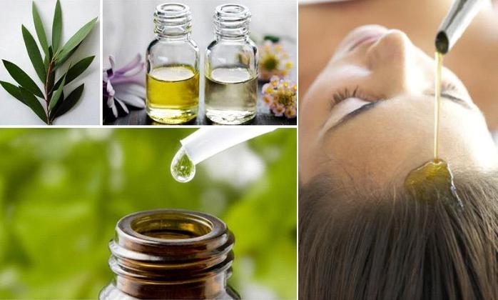 tinh dầu tràm sử dụng cho tóc