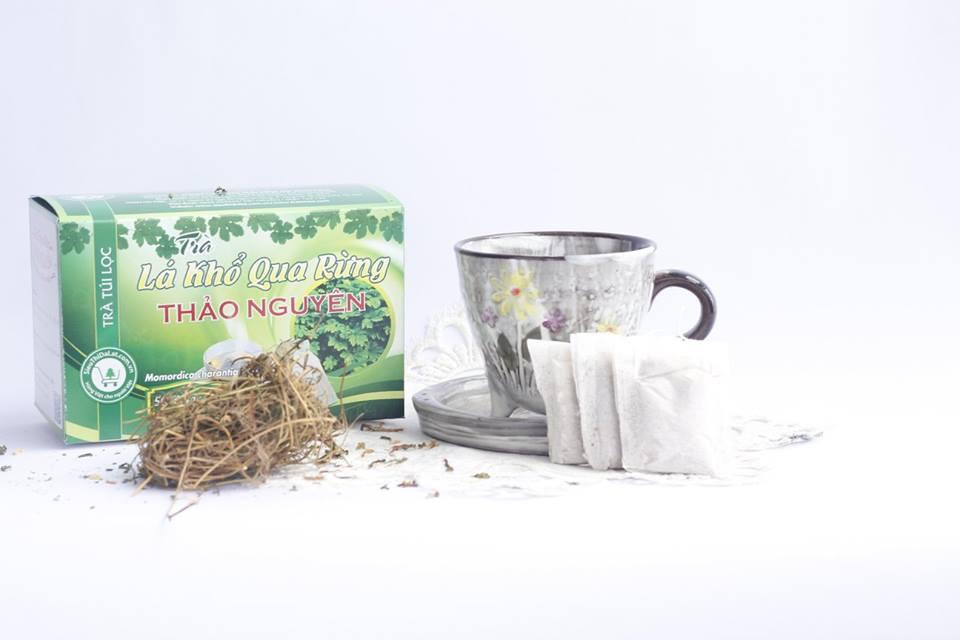 trà lá khổ qua rừng