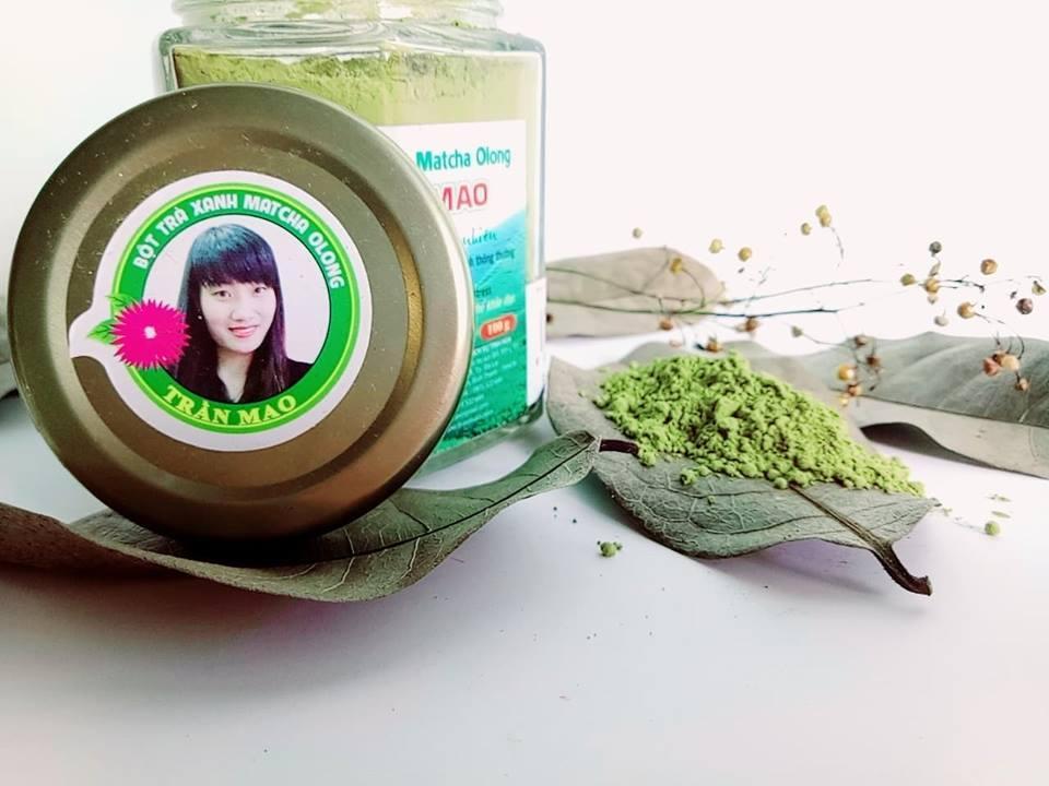 Giảm cân - tan mỡ với bột trà xanh Trần Mao
