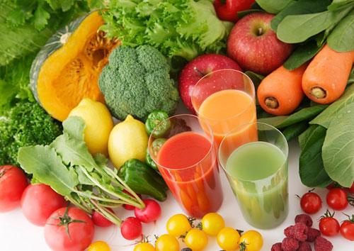 giảm cân băng rau,củ ,quả