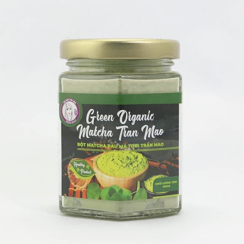 Sữa đậu nành trà xanh rau má