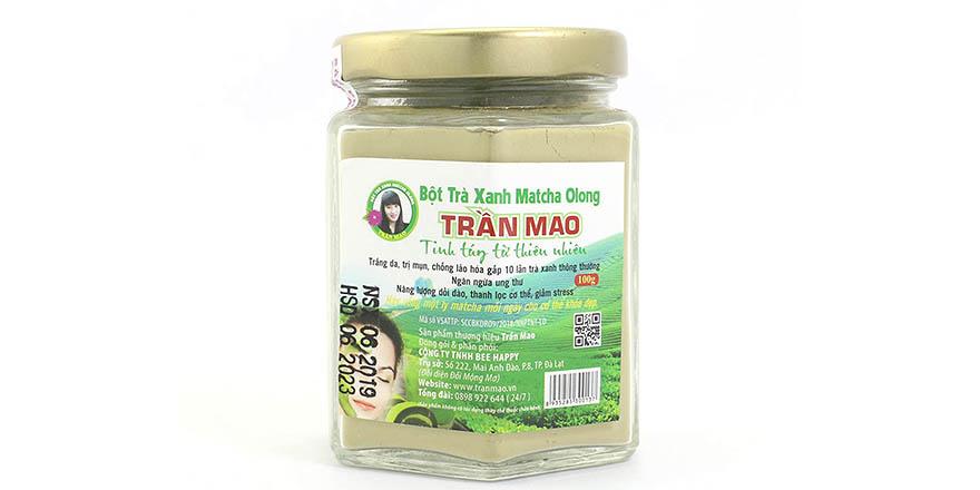 Bột trà xanh Trần Mao matcha olong