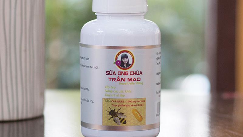 Sữa ong chúa Trần Mao