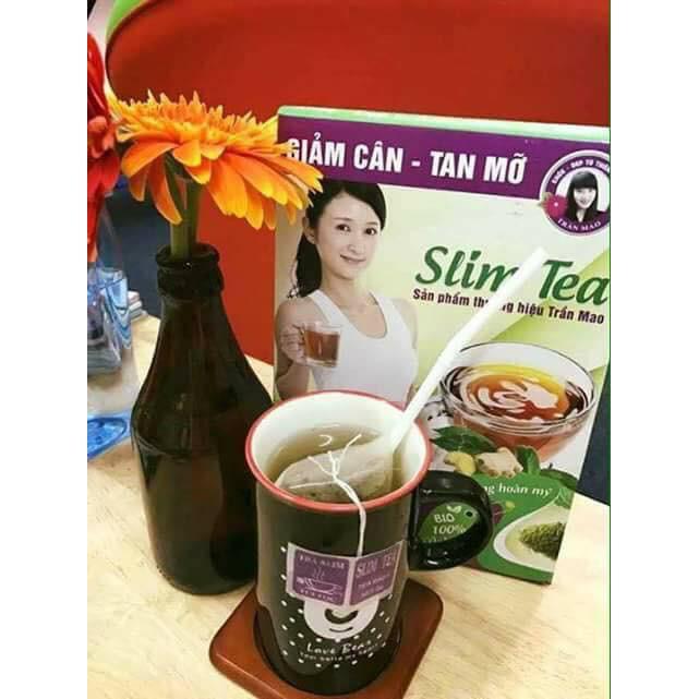 cách sử dụng trà giảm cân slim tea