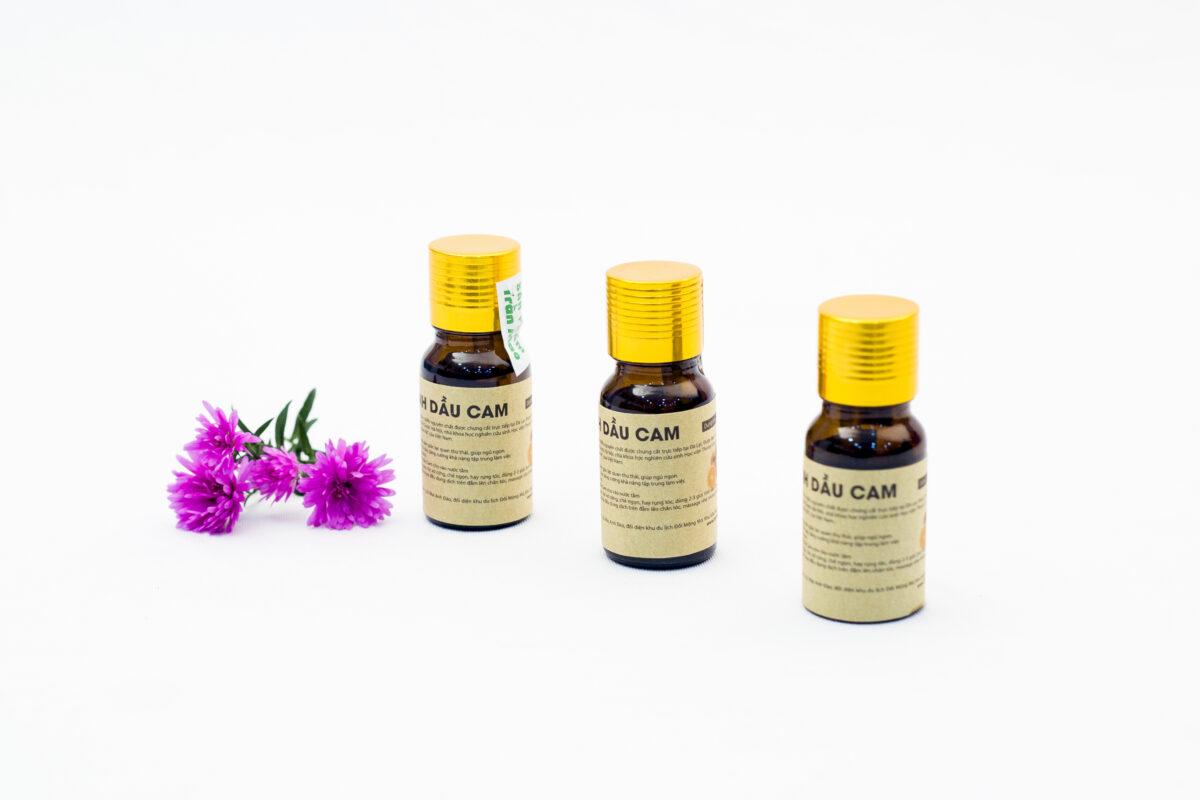 Tinh dầu Cam tác dụng an toàn tốt cho sức khỏe