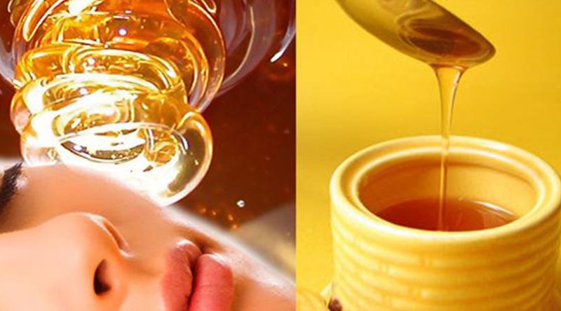 trị sẹo rỗ bằng mật ong