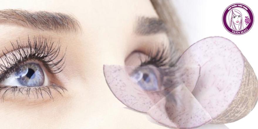 Bột khoai môn giúp sáng mắt