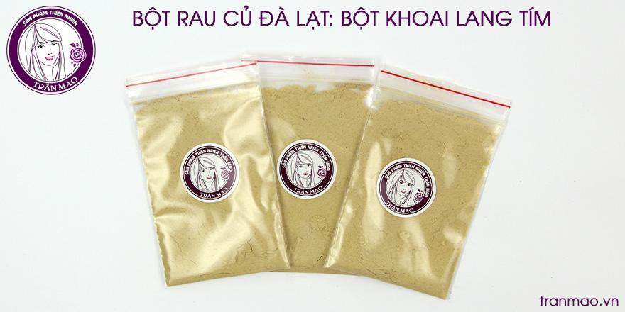 bột khaoi lang vàng