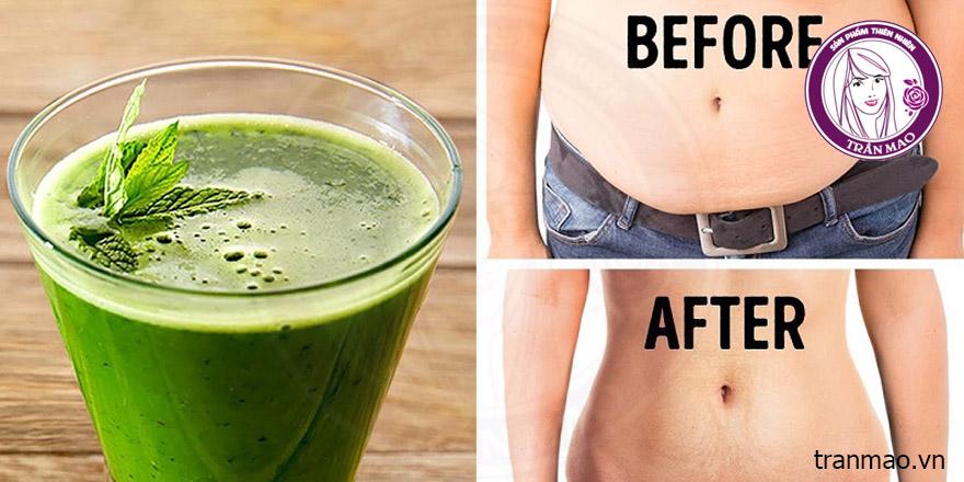 Bột trà xanh giảm cân hiệu quả