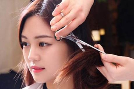 cắt tóc sớm