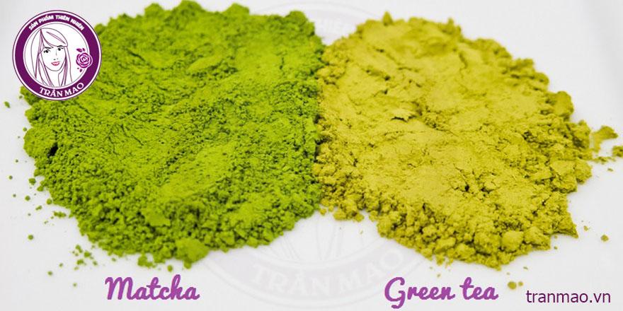 Phân biệt bột matcha và bột trà xanh