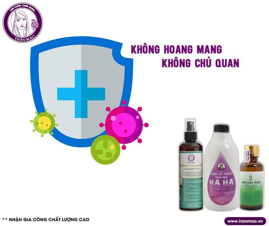 xịt sát khuẩn hữu cơ Trần Mao